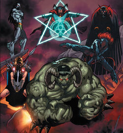 Defenders of the Realm (Earth-10011) from Thanos Imperative Vol 1 1 0001.jpg