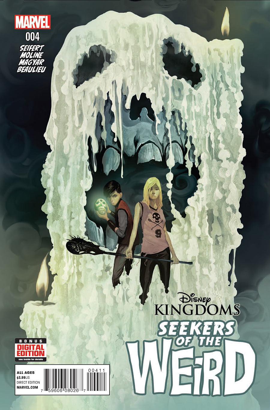 Disney Kingdoms: Seekers of the Weird Vol 1 4