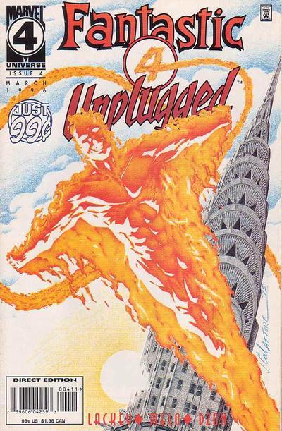 Fantastic Four: Unplugged Vol 1 4