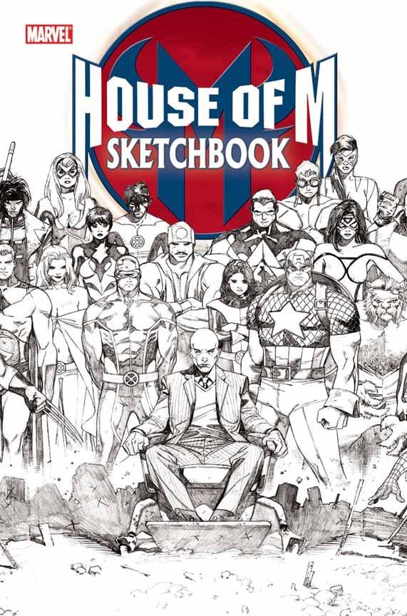 House of M Sketchbook Vol 1 1