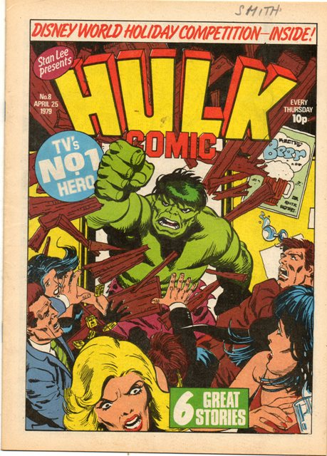 Hulk Comic (UK) Vol 1 8