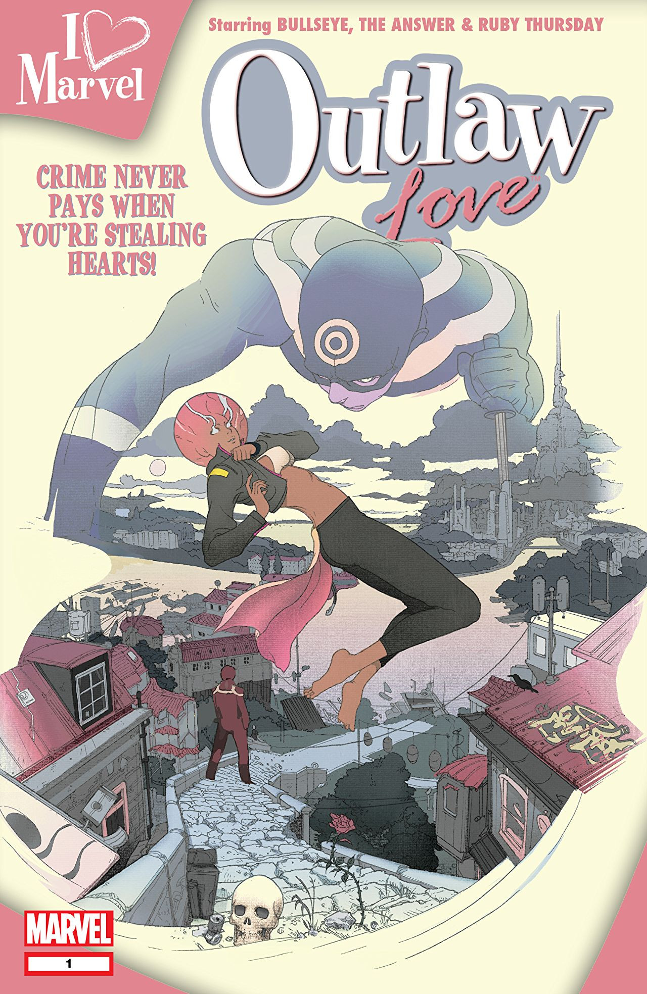 I (heart) Marvel: Outlaw Love Vol 1 1
