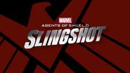 Marvel's Slingshot logo