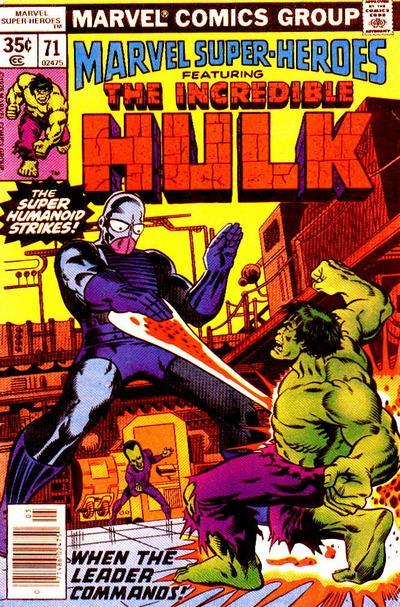 Marvel Super-Heroes Vol 1 71