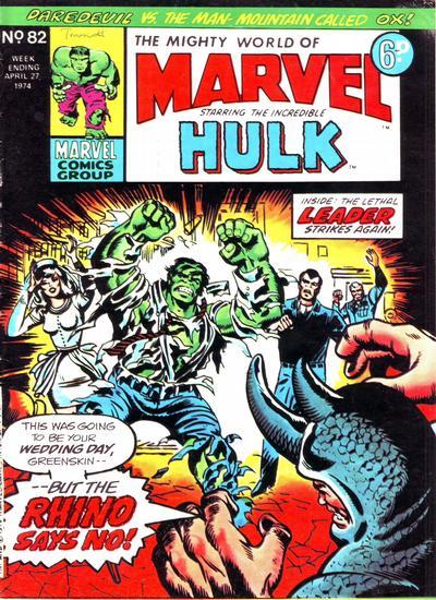 Mighty World of Marvel Vol 1 82