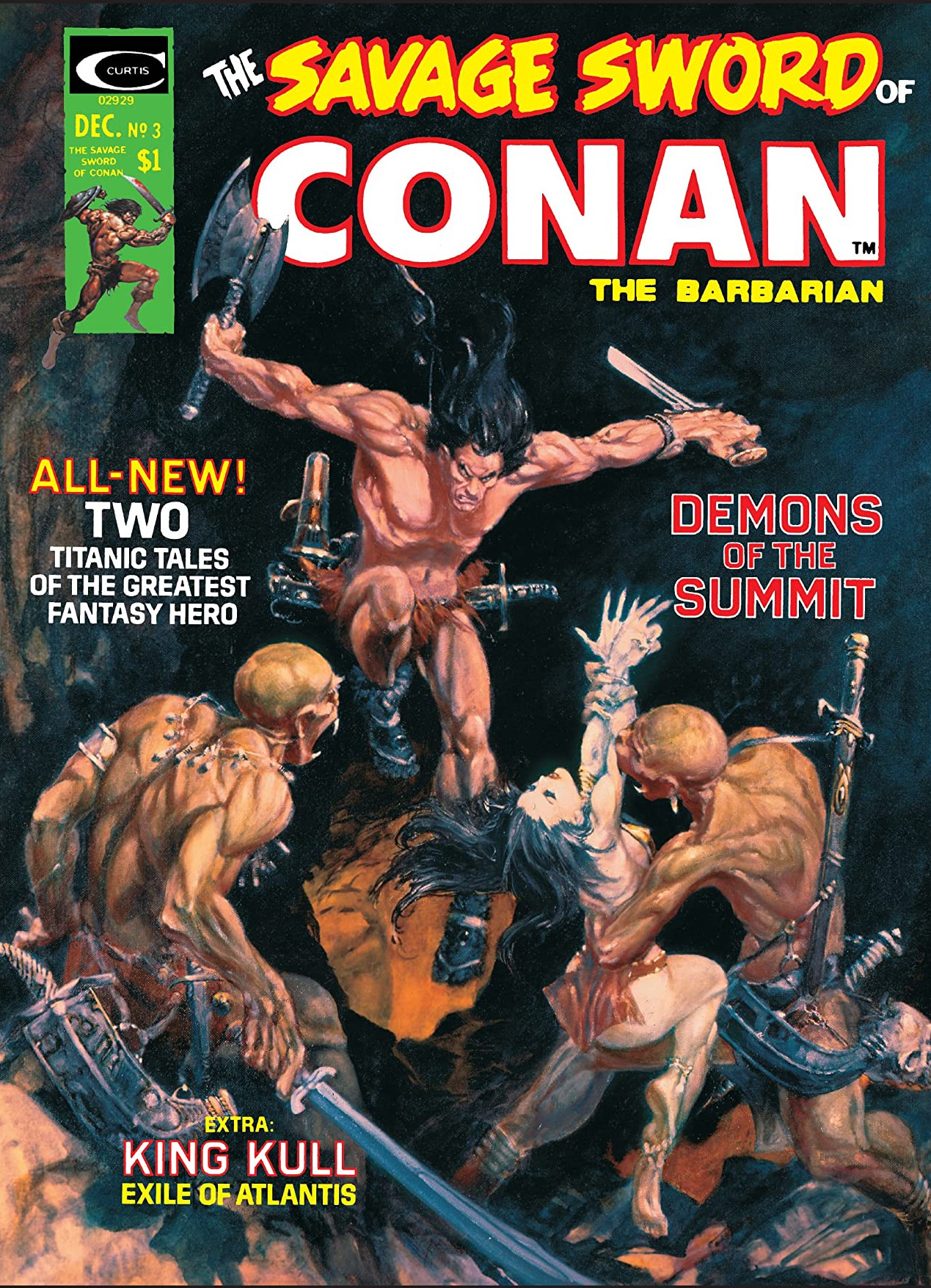 Savage Sword of Conan Vol 1 3