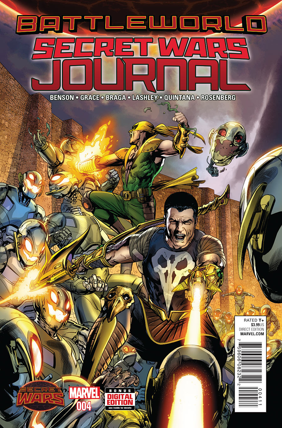 Secret Wars Journal Vol 1 4