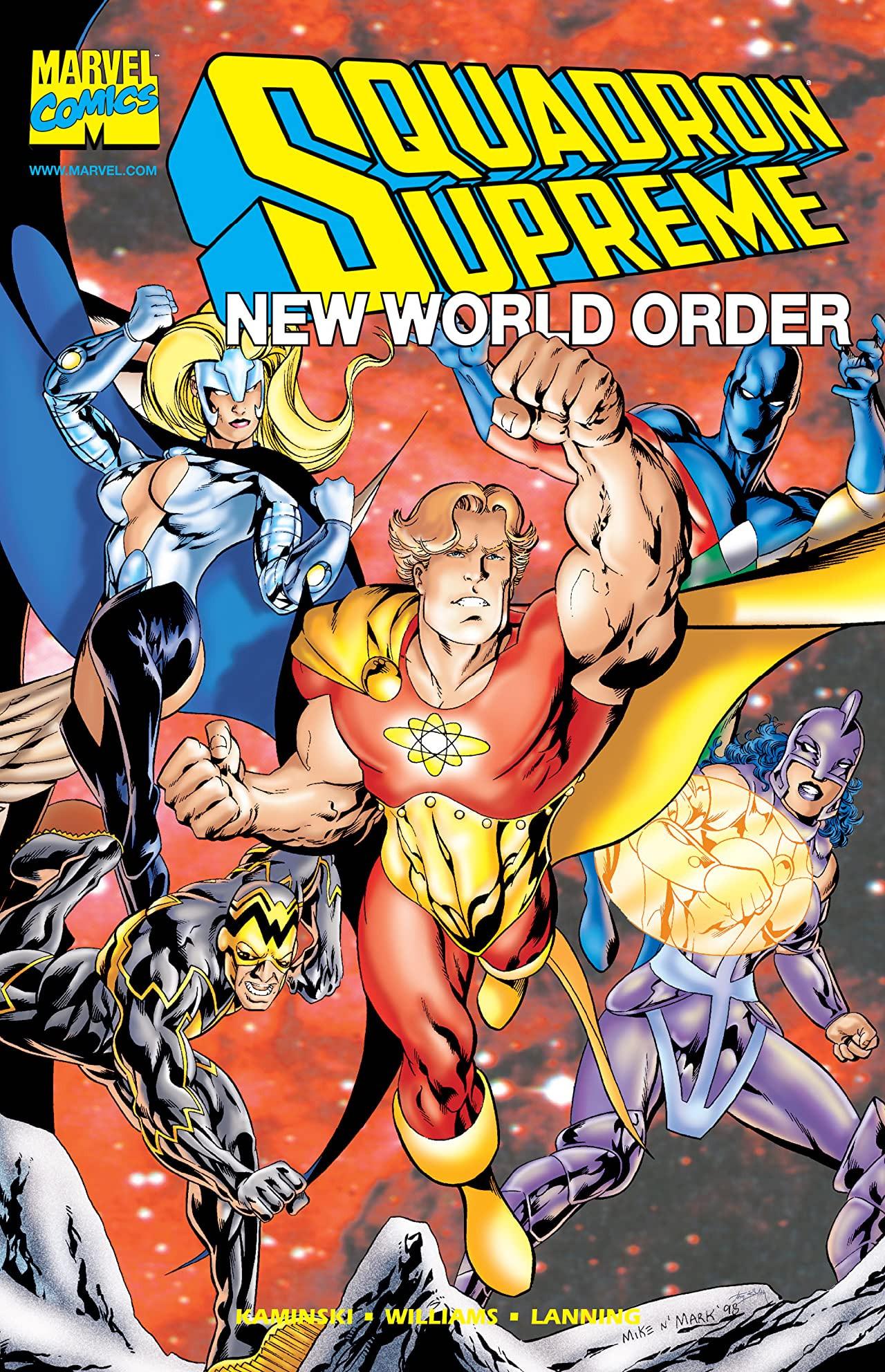 Squadron Supreme: New World Order Vol 1 1