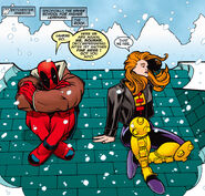 Wade Wilson (Earth-616) and Theresa Cassidy (Earth-616) from Deadpool Vol 3 5 001