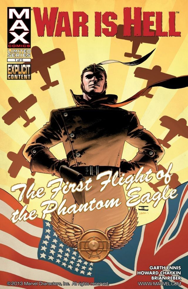 War Is Hell: The First Flight of the Phantom Eagle Vol 1 1