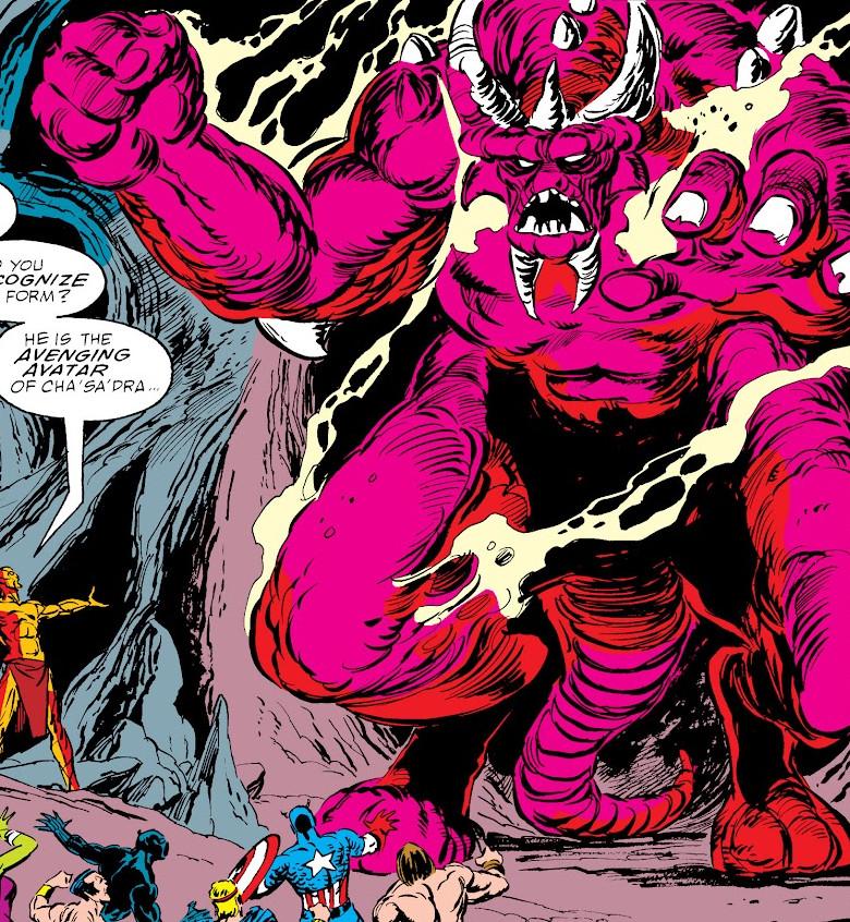Avatar of Cha'sa'dra (Earth-616)