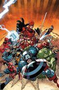 Avengers vs. X-Men Vol 1 10 Brandshaw Variant Textless