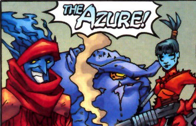 Azure (Earth-2301) from Marvel Mangaverse X-Men Vol 1 1 0001.png