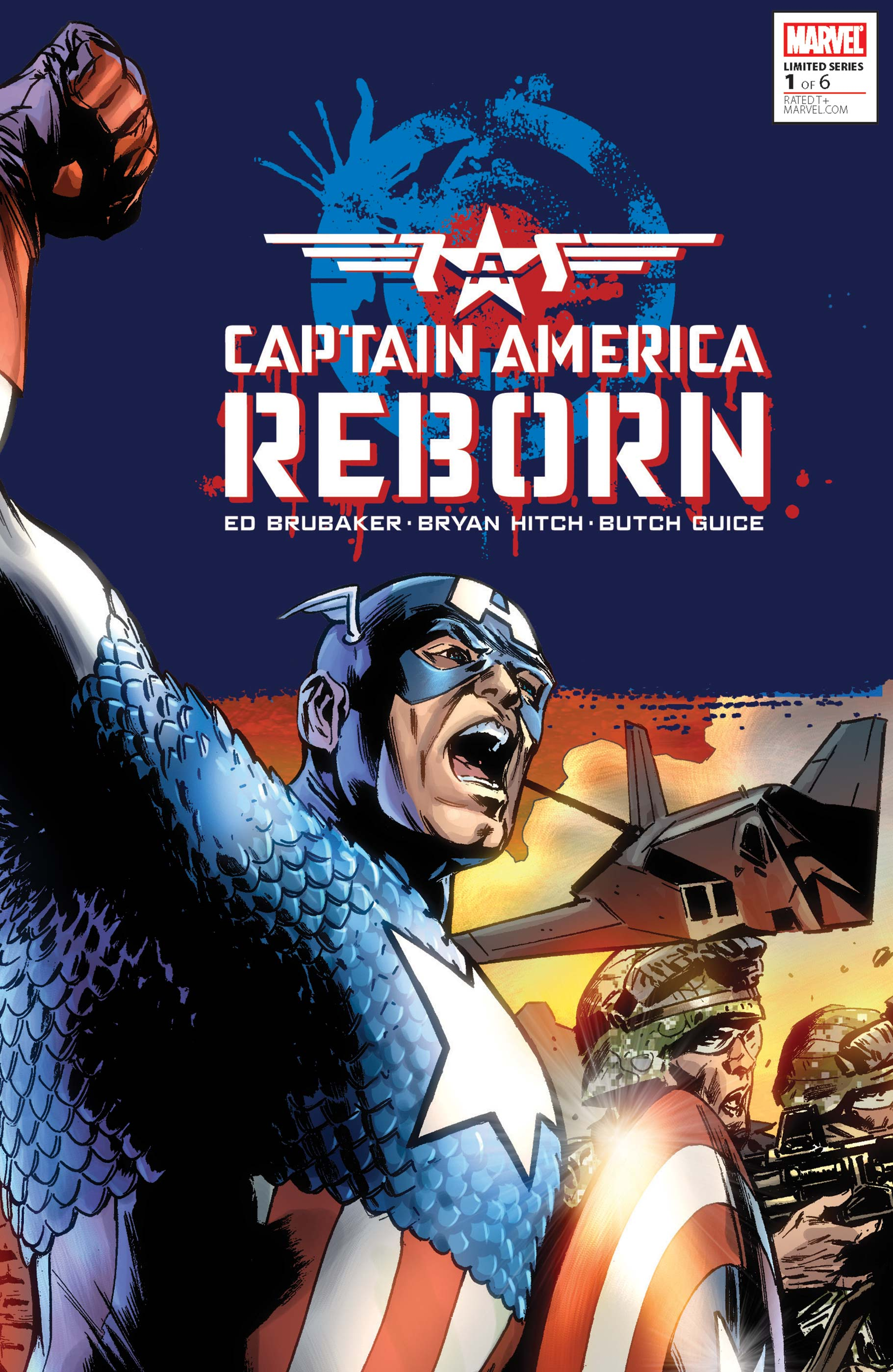 Captain America: Reborn Vol 1 1