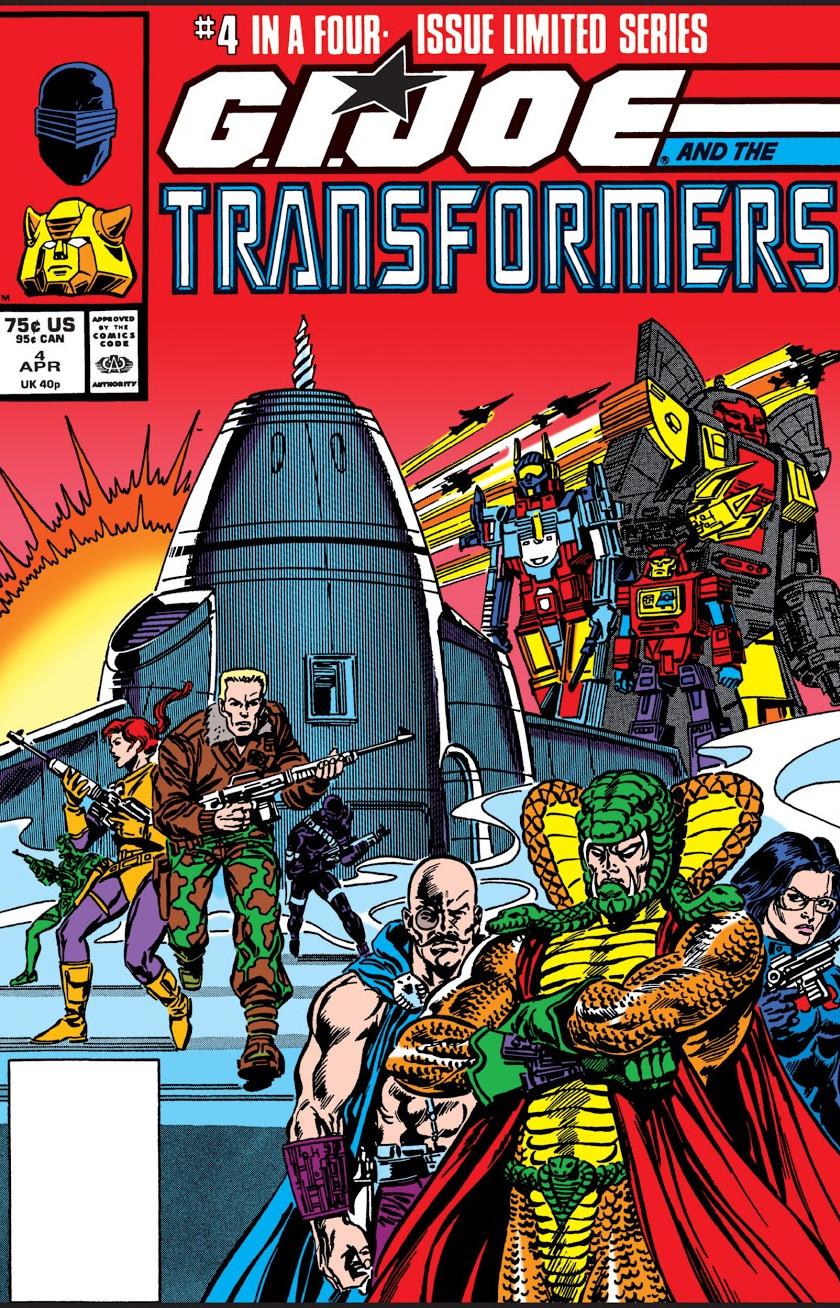 G.I. Joe and the Transformers Vol 1 4