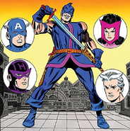 Jacques Duquesne (Earth-616) from the cover of Avengers Vol 1 19