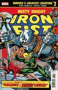 Marvel's Greatest Creators Iron Fist - Misty Knight Vol 1 1