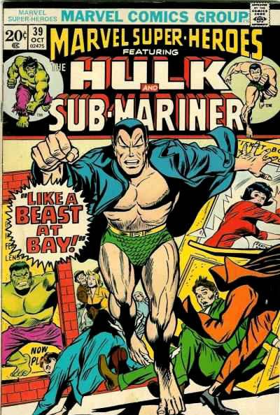 Marvel Super-Heroes Vol 1 39