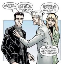 Peter Parker, George Stacy and Gwendoline Stacy (Earth-616) from Amazing Spider-Man Vol 1 700 0001.jpg