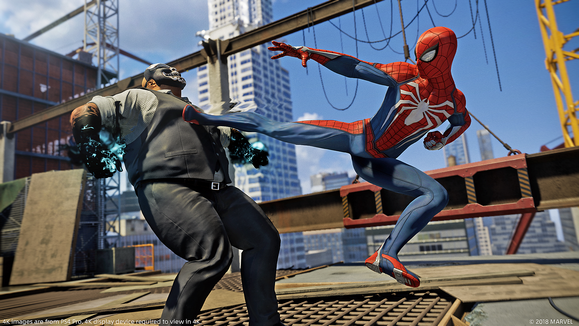 Peter Parker (Earth-1048) and Demons (Earth-1048) from Marvel's Spider-Man (video game) 0002.png