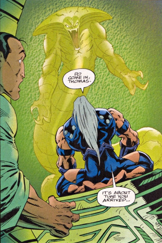 Raptar (Earth-616) from Spider-Man Unlimited Vol 1 15 0003.png