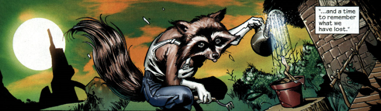 Rocket Raccoon (Earth-616) from Annihilation Conquest Vol 1 6.png