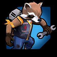 Rocket Raccoon (Earth-TRN562) from Marvel Avengers Academy 004