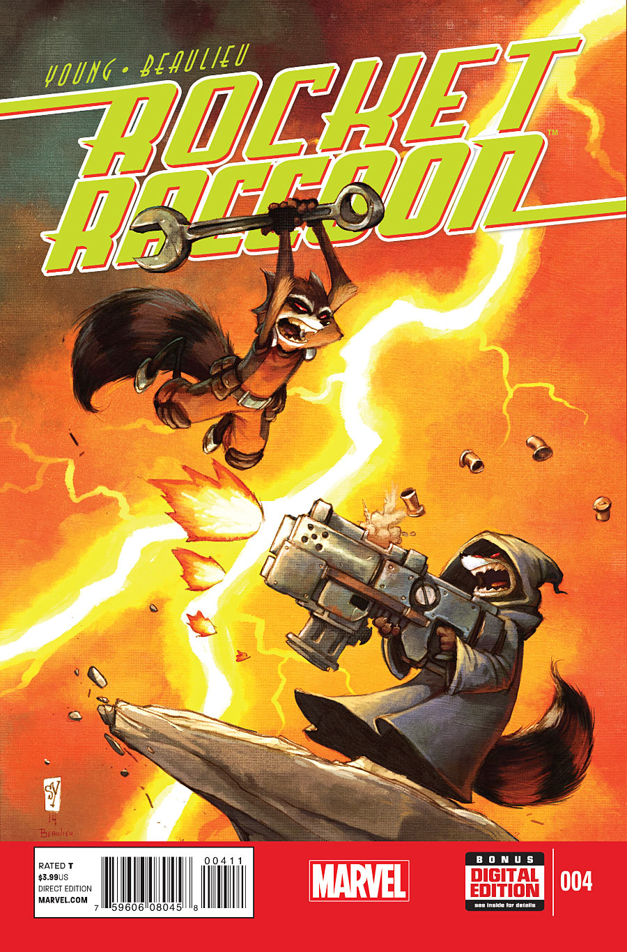 Rocket Raccoon Vol 2 4