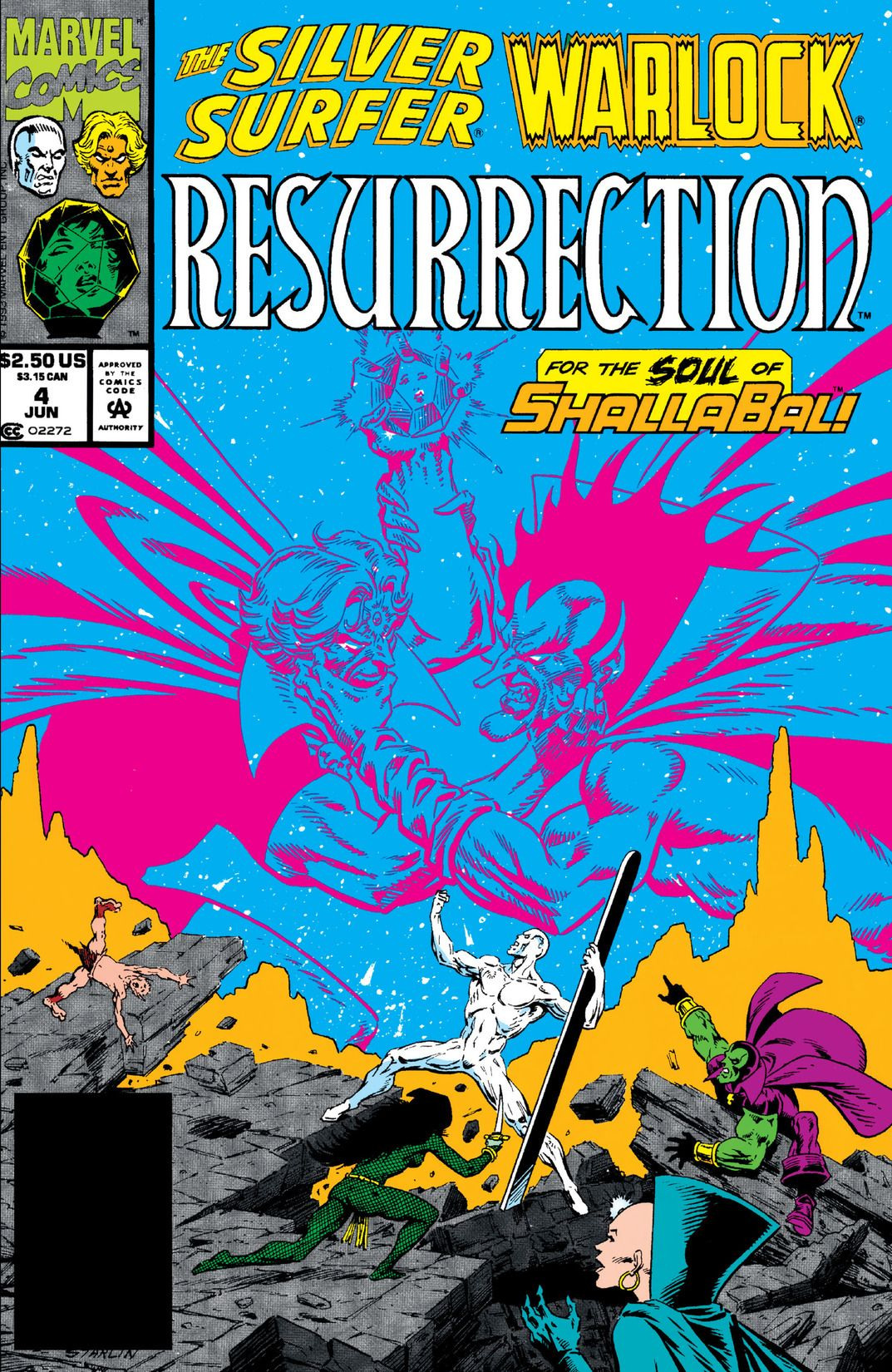 Silver Surfer/Warlock: Resurrection Vol 1 4