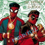 Spider-Man Deadpool Vol 1 1 Hip-Hop Variant Textless