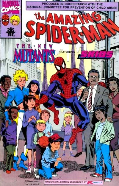 Spider-Man and the New Mutants Vol 1 1