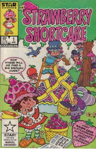 Strawberry Shortcake Vol 1 1