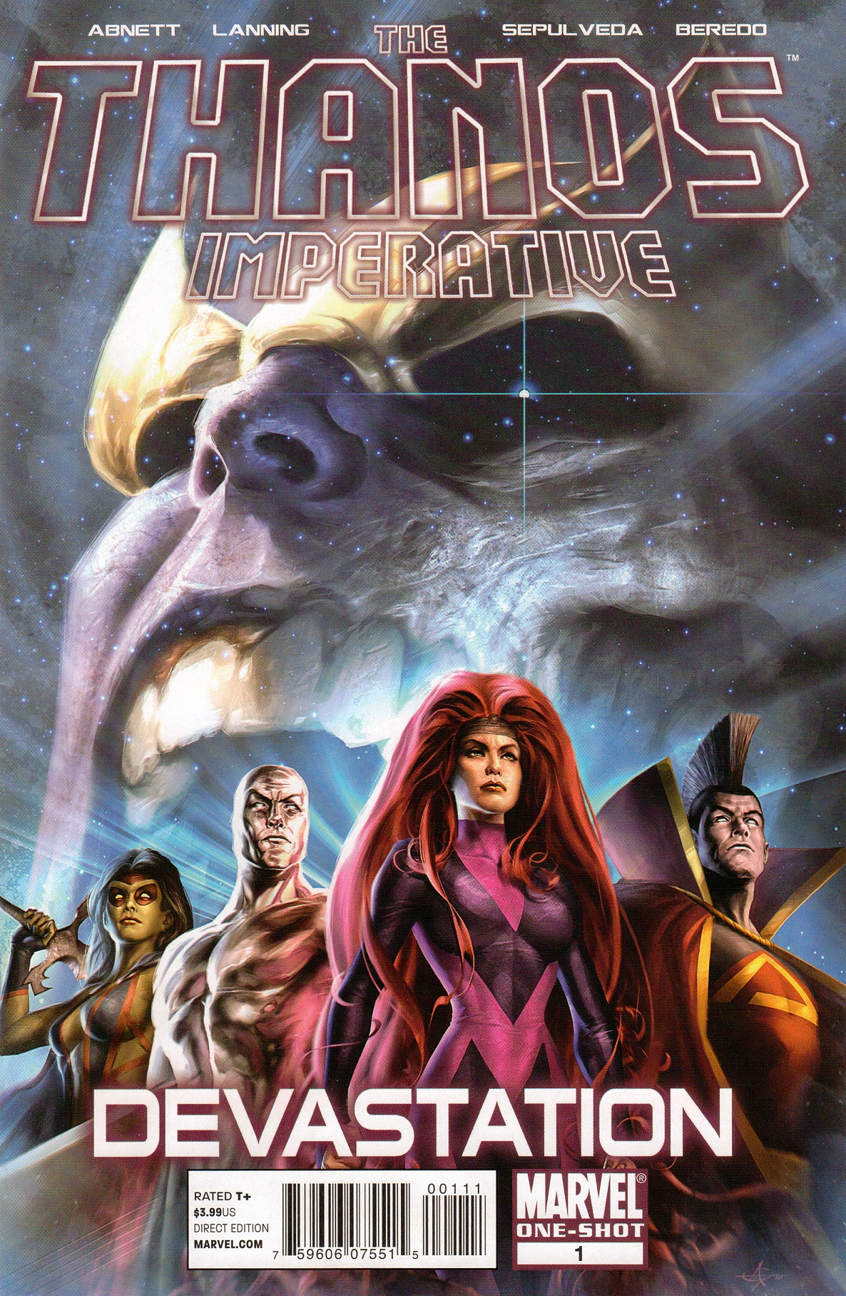 Thanos Imperative: Devastation Vol 1