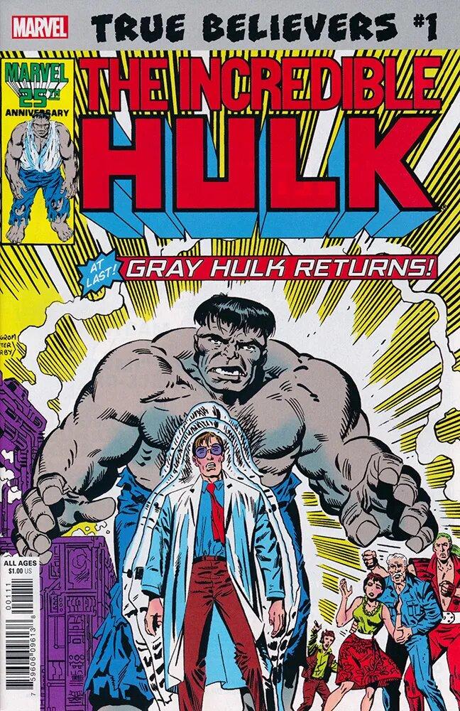 True Believers: Hulk - Gray Hulk Returns Vol 1 1