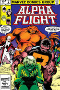 Alpha Flight Vol 1 2