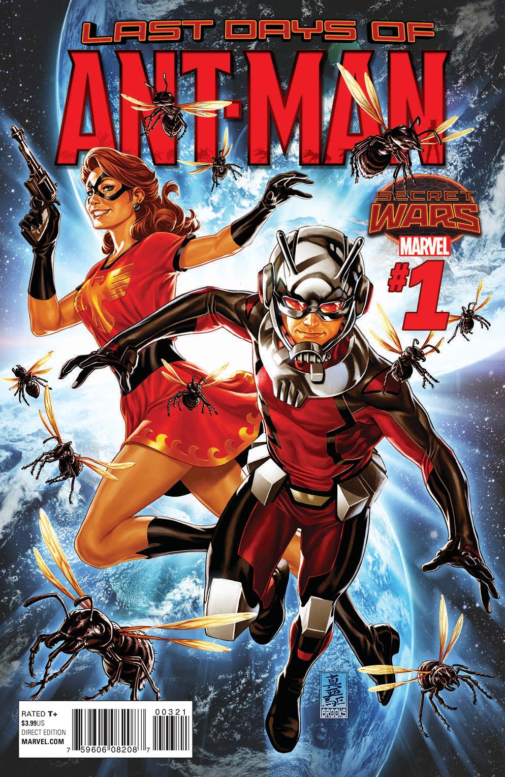 Ant-Man: Last Days Vol 1 1