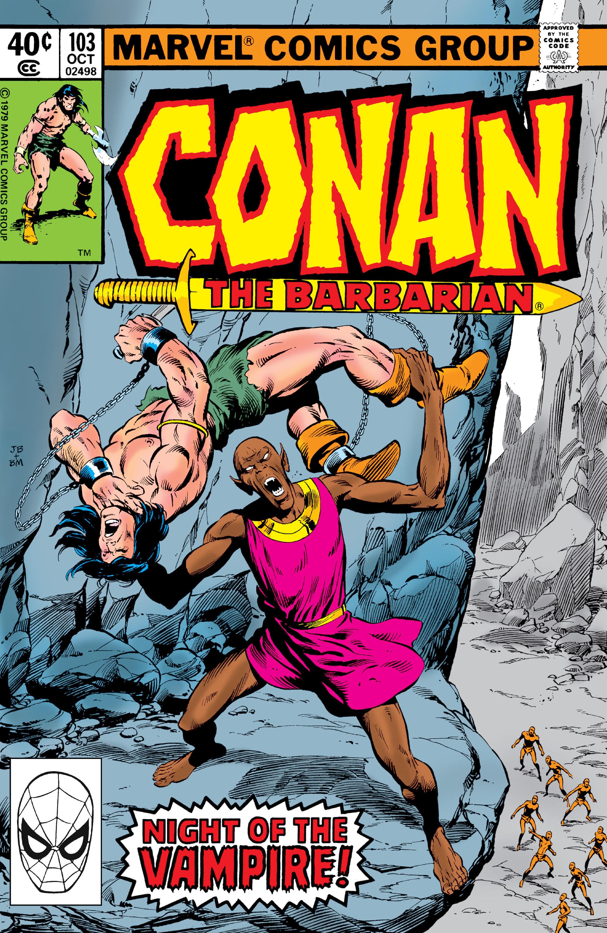 Conan the Barbarian Vol 1 103