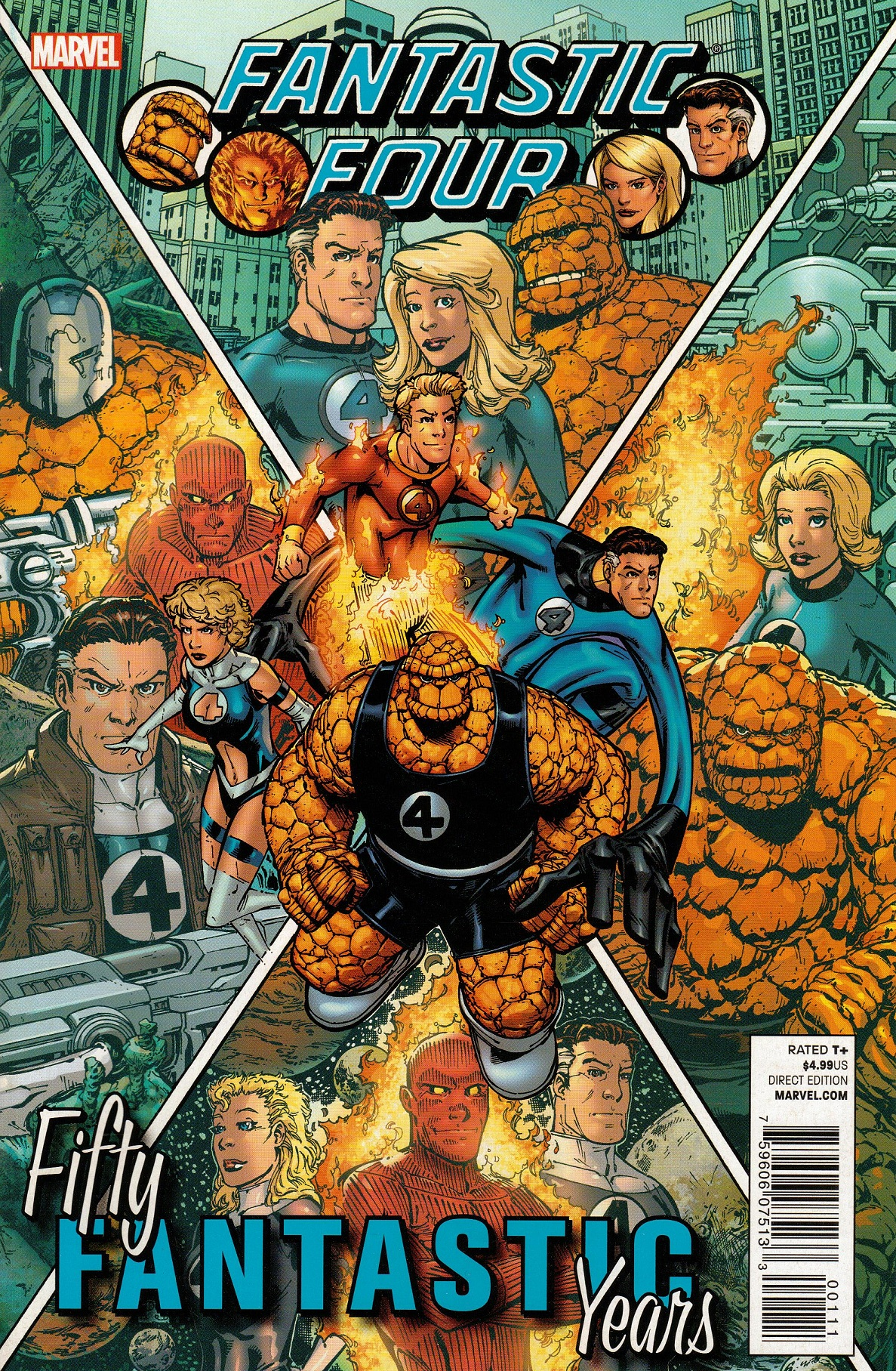 FF: Fifty Fantastic Years Vol 1