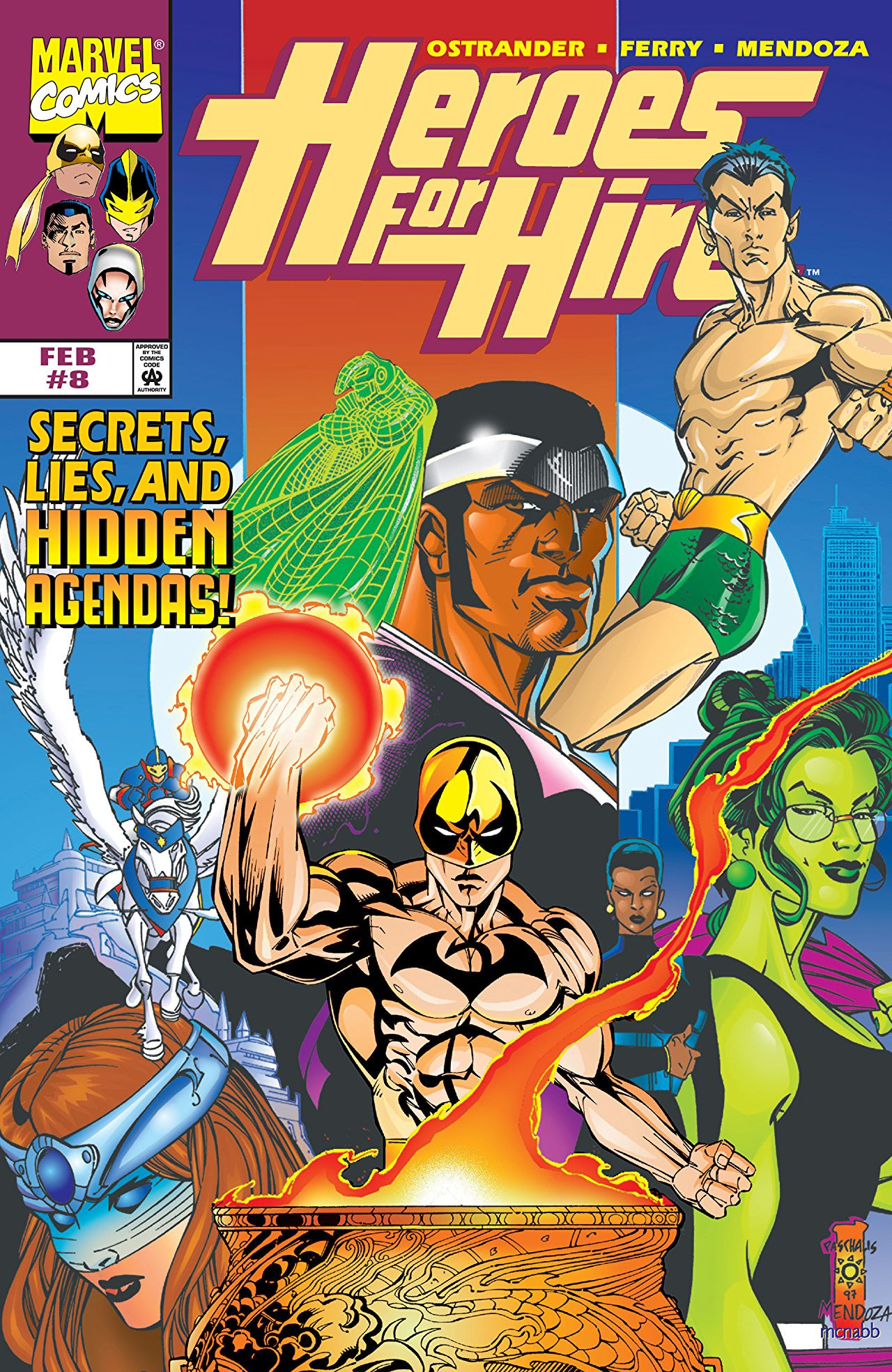 Heroes for Hire Vol 1 8