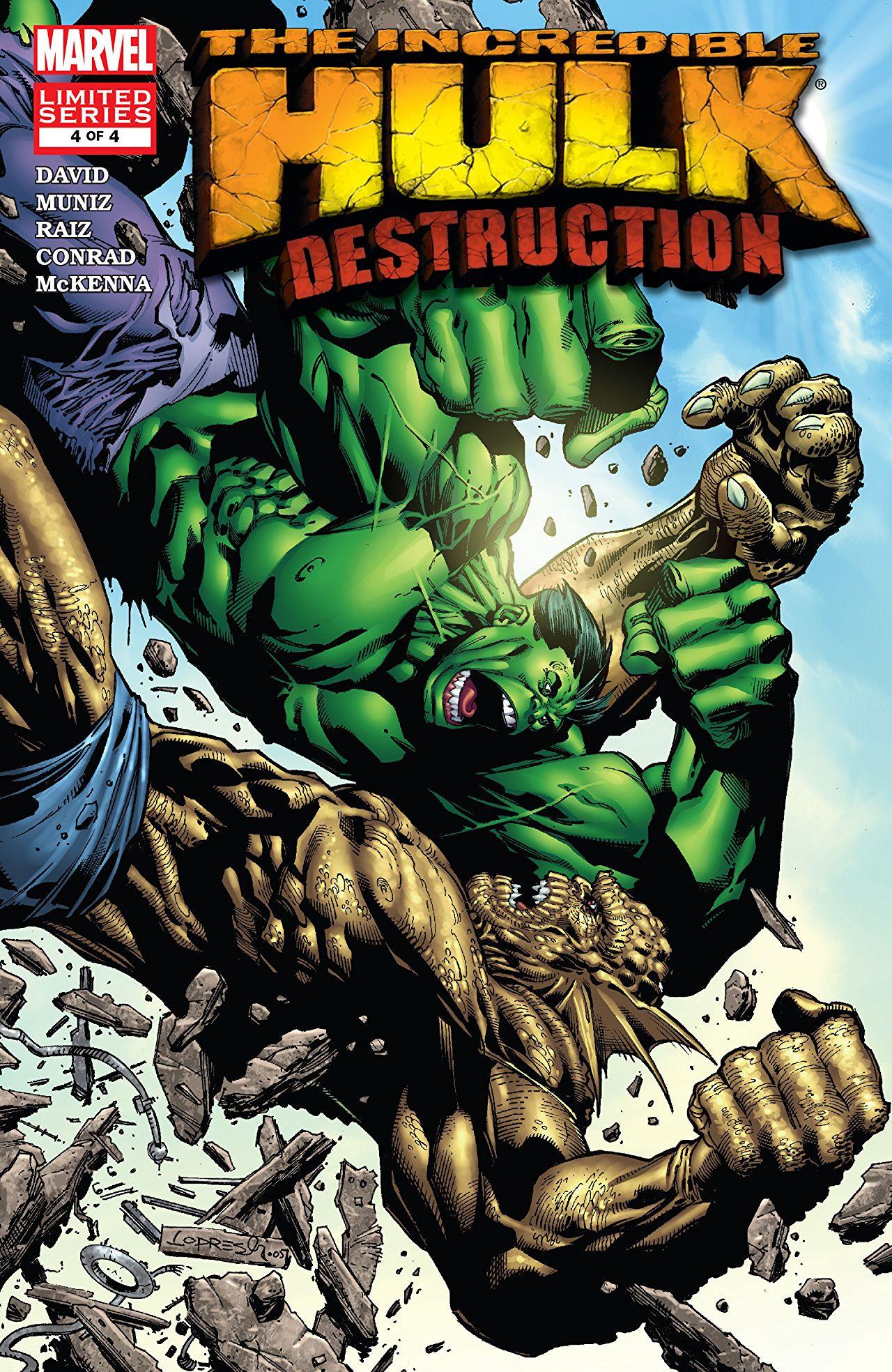 Hulk: Destruction Vol 1 4