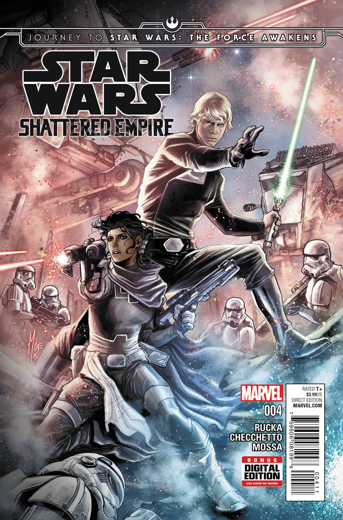 Journey to Star Wars: The Force Awakens - Shattered Empire Vol 1 4
