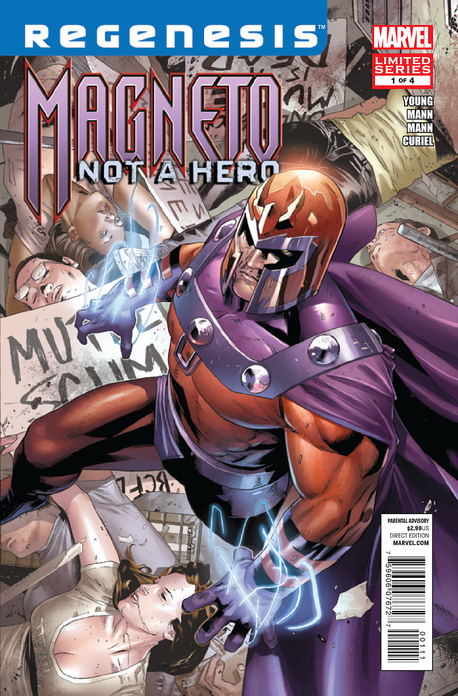 Magneto: Not a Hero Vol 1 1