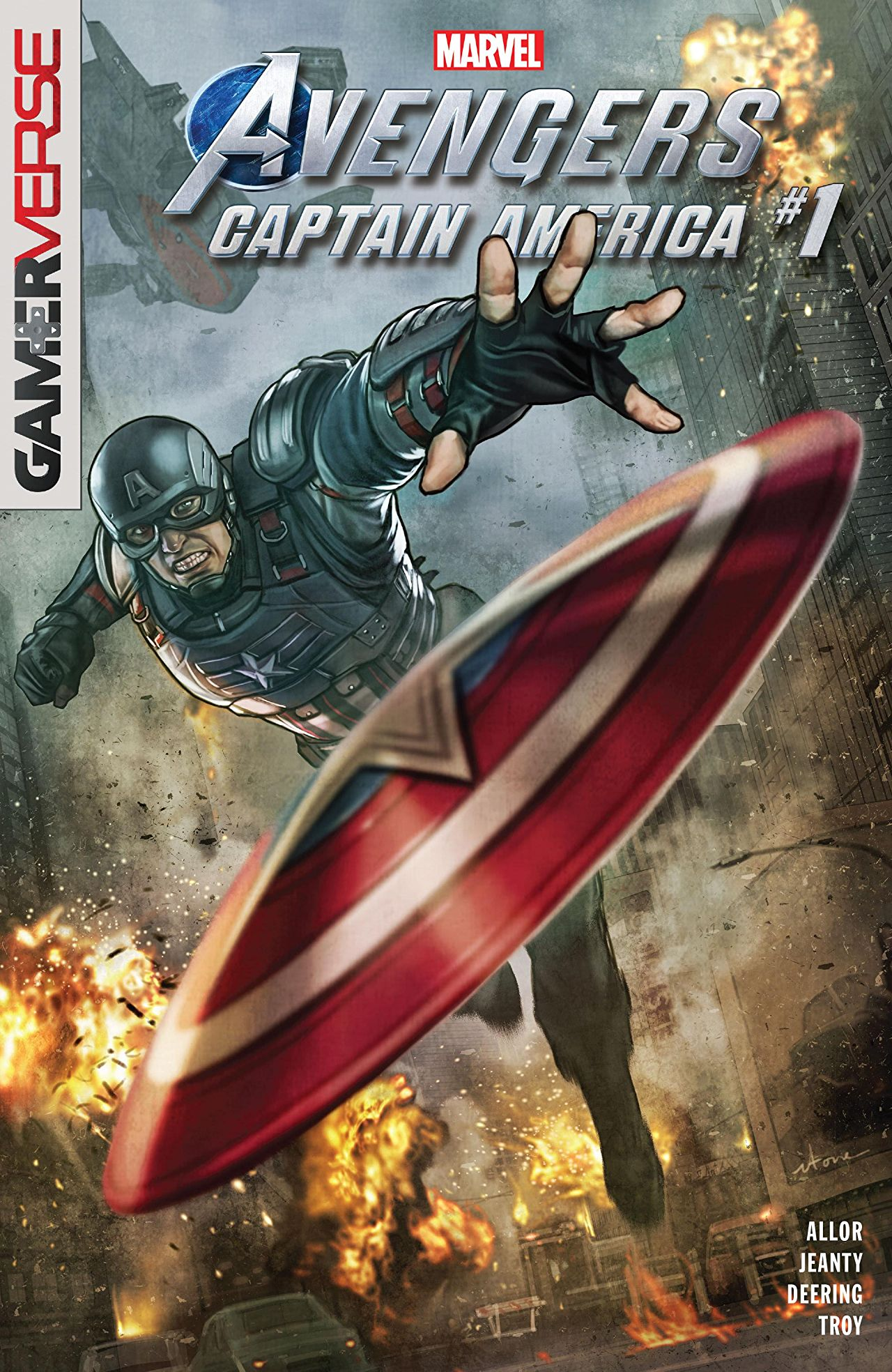 Marvel's Avengers: Captain America Vol 1 1