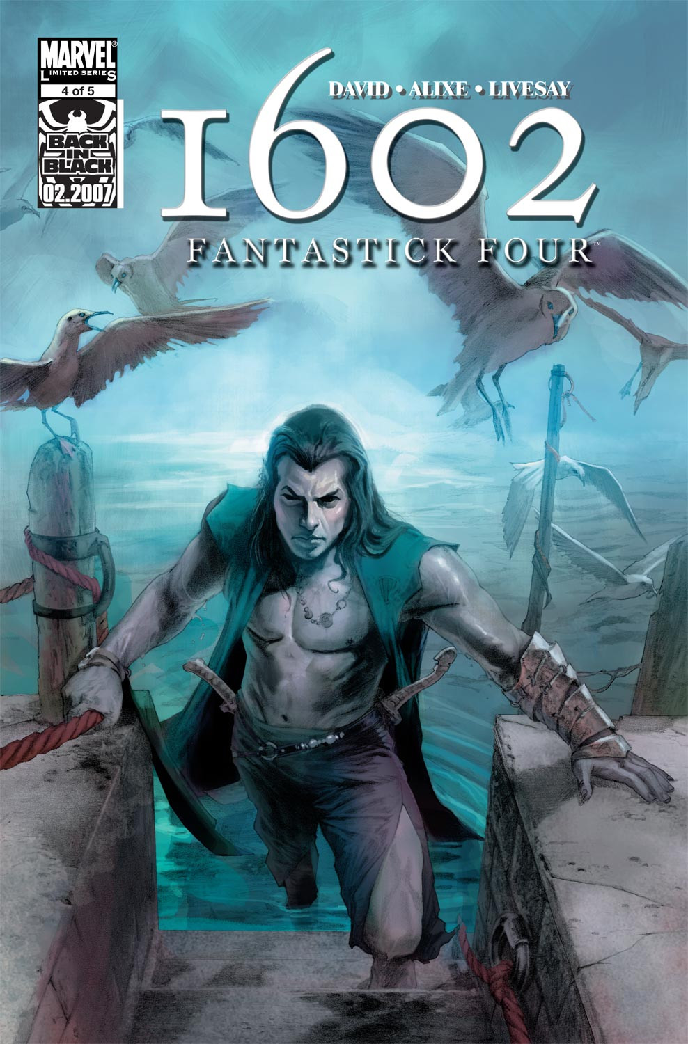 Marvel 1602: Fantastick Four Vol 1 4