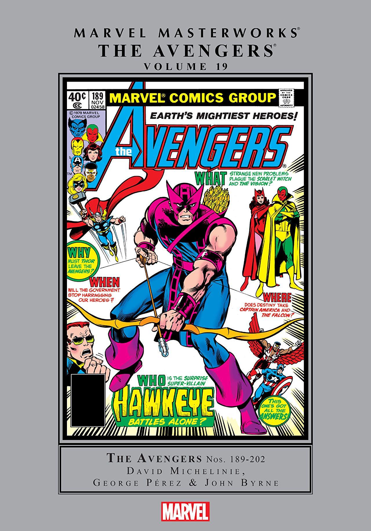 Marvel Masterworks: Avengers Vol 1 19