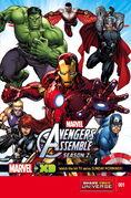 Marvel Universe Avengers Assemble Season Two Vol 1 1