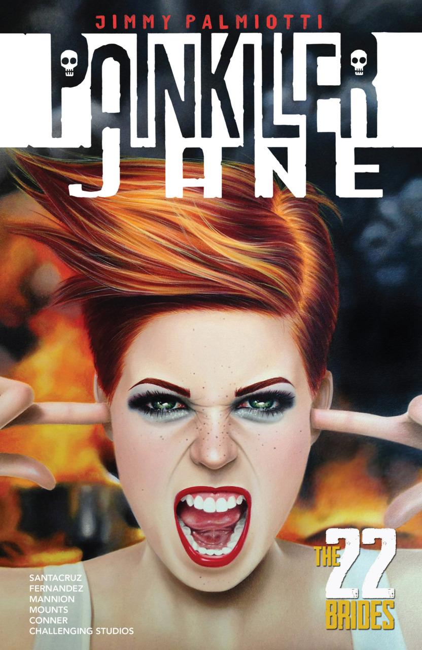 Painkiller Jane: The 22 Brides TPB Vol 1 1