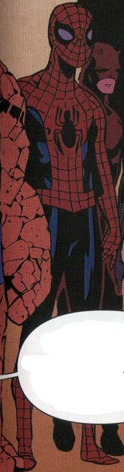 Peter Parker (Project Doppelganger LMD) (Earth-616) from Spider-Man Deadpool Vol 1 28 001.jpg