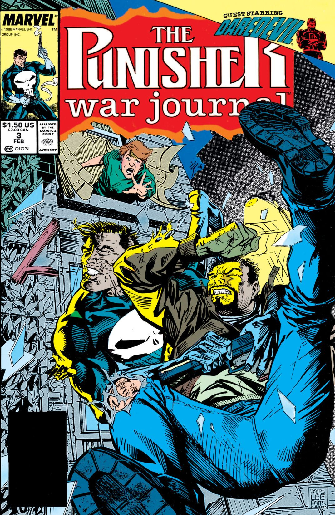 Punisher War Journal Vol 1 3