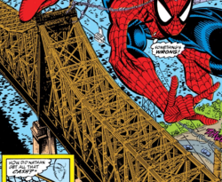Queensboro Bridge from Amazing Spider-Man Vol 1 336 001.png
